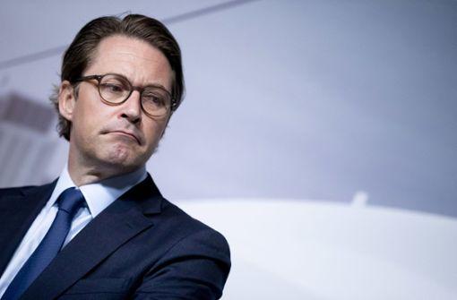 Schwere Vorwürfe gegen Verkehrsminister Andreas Scheuer