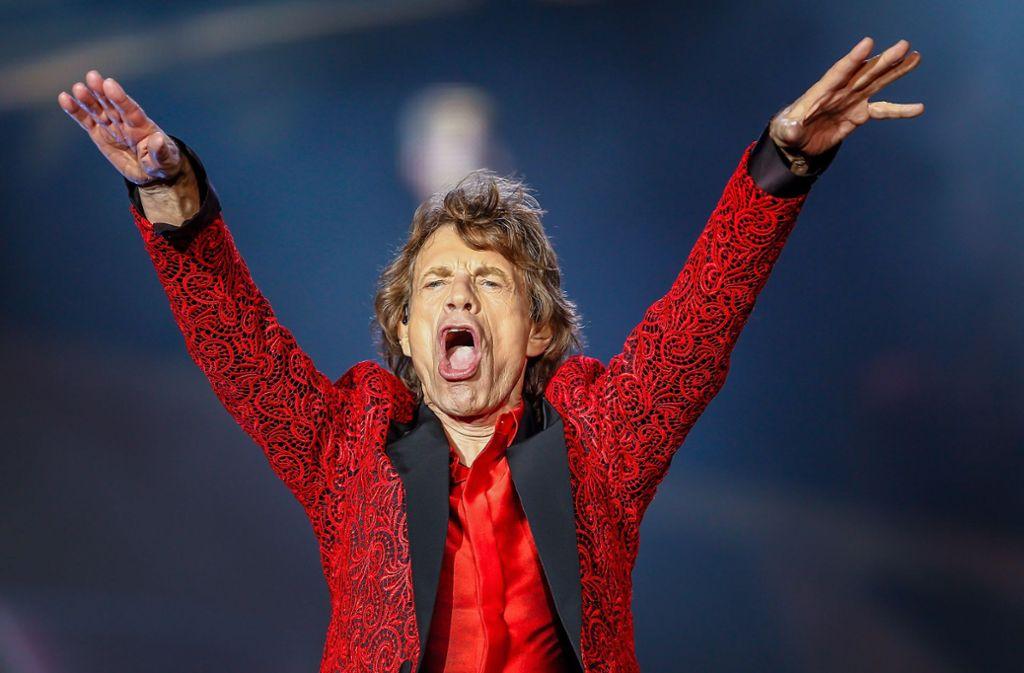 Die Rolling Stones haben wegen Mick Jaggers Erkrankung den Start ihrer Konzerte in Nordamerika verschoben. Foto: GETTY IMAGES NORTH AMERICA