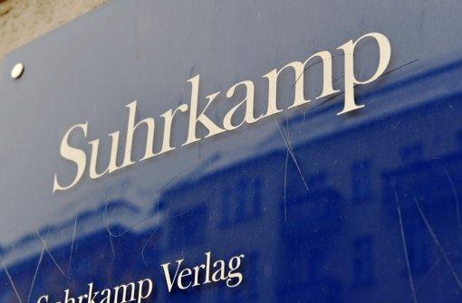 Suhrkamp Verlag steht vor dem Showdown