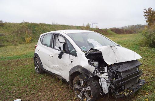 Eine Schwerverletzte nach Unfall