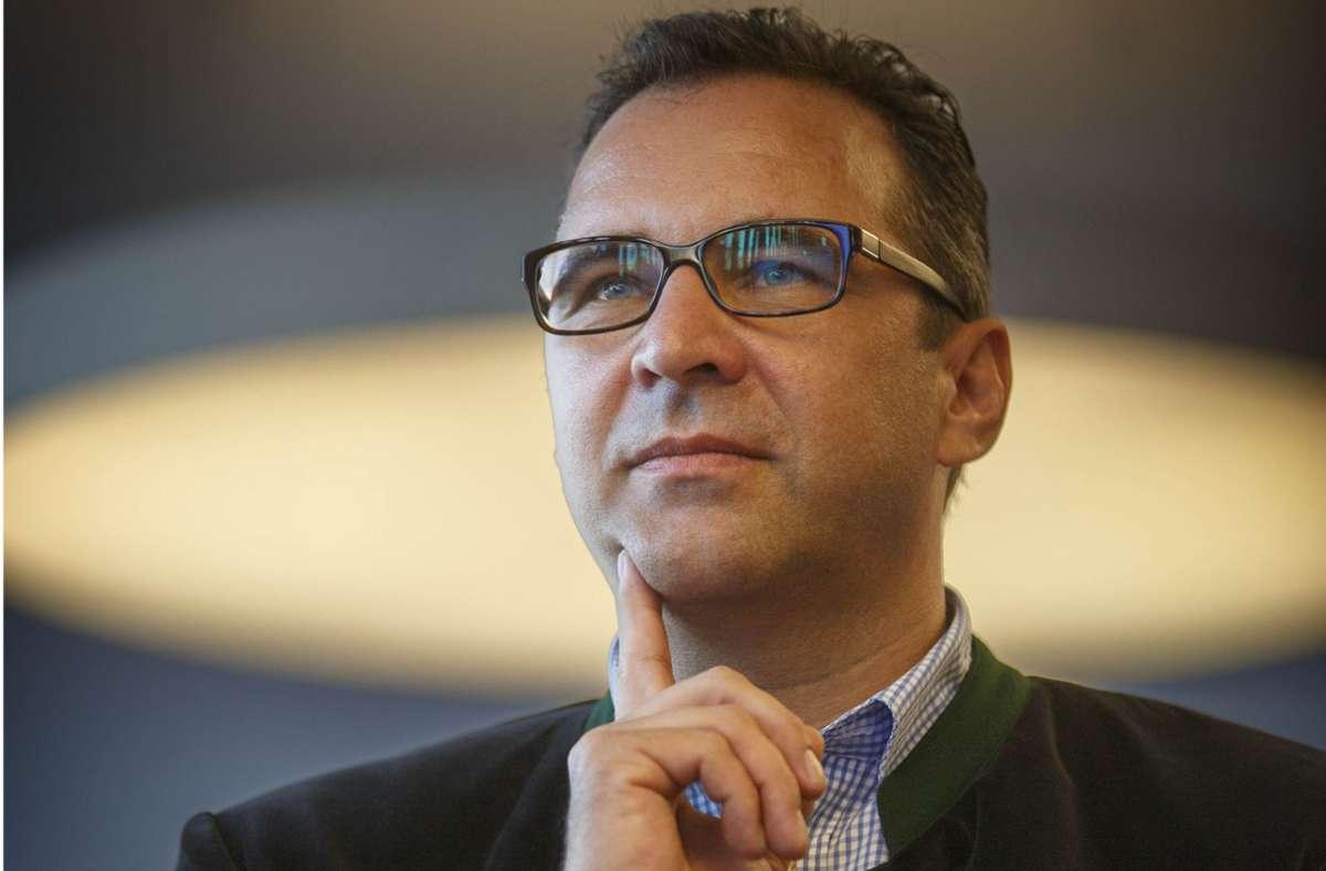 Joachim Pfeiffer will sich vom CDU-Vorsitz im Kreis verabschieden. Foto: Gottfried Stoppel