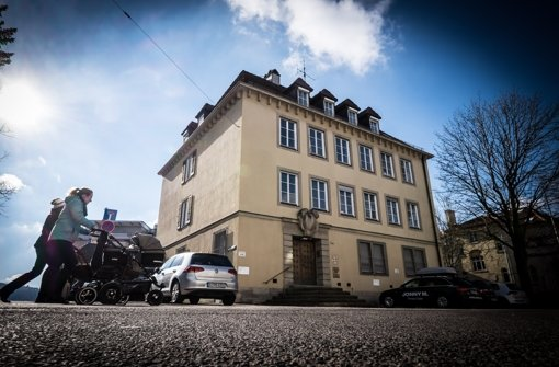Für das Haus  Hölderlinstraße 3a kommen alle Konzepte zu spät. Foto: Lg/Zweygarth