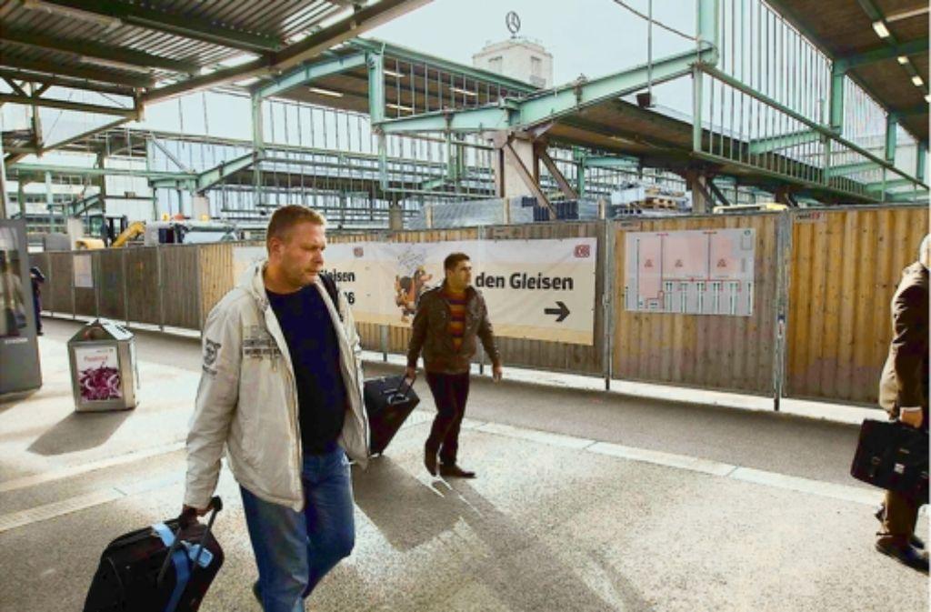 Der verlegte Querbahnsteig schafft neue Verbindungen im Hauptbahnhof. Unsere Bildergalerie zeigt Impressionen von der Eröffnung. Foto: