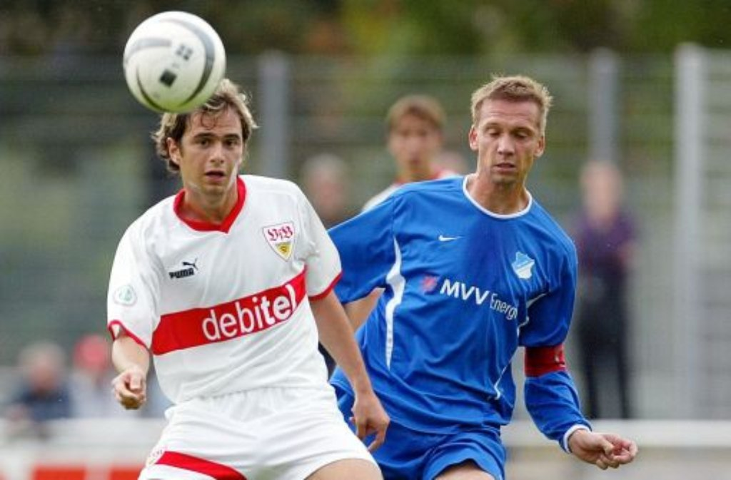 Robert Vujevic damals im Trikot des VfB Stuttgart und ... Foto: Baumann