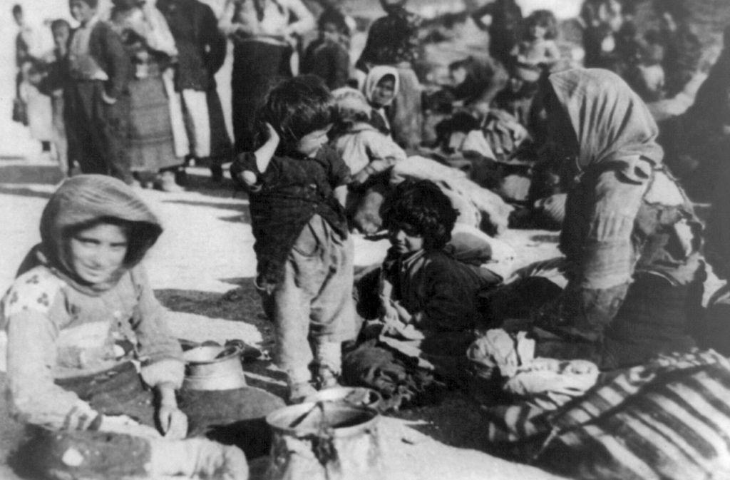 Während des Ersten Weltkrieges sind im damaligen Osmanischen Reich Tausende Armenier massakriert worden. Foto: Library of Congress