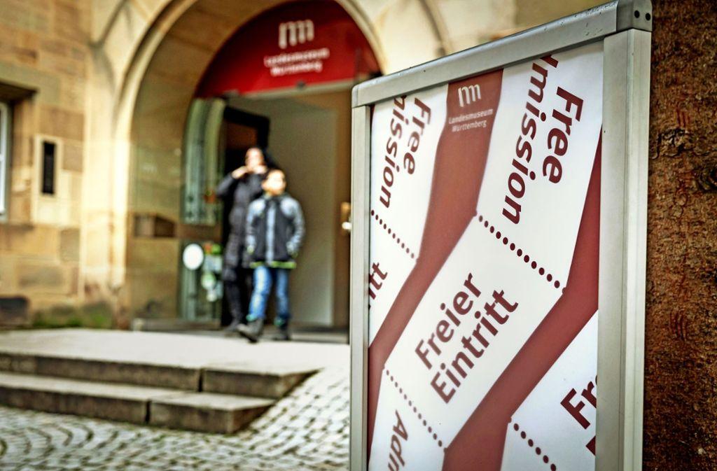 Wichtiger Schritt zum offenen Museum: freier Eintritt ins Alte Schloss. Foto: Lg/Julian Rettig
