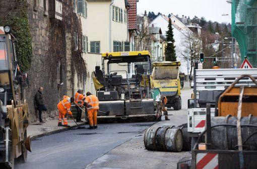 Start in die Esslinger Baustellensaison