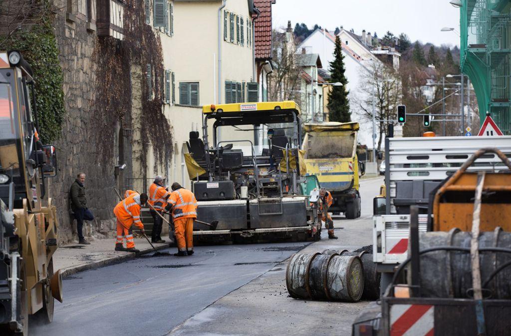 Straßensperrungen werden in Esslingen an der Tagesordnung sein. Foto: Horst Rudel