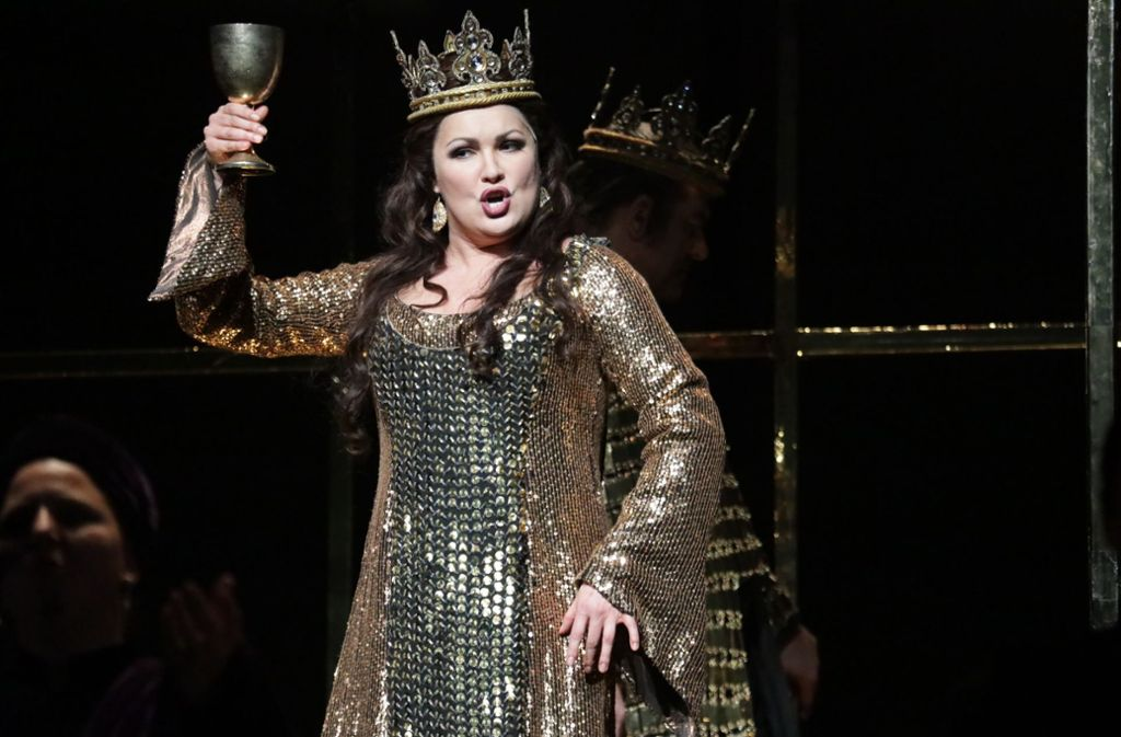 Anna Netrebko als Lady Macbeth Foto: Patricia Sigerist