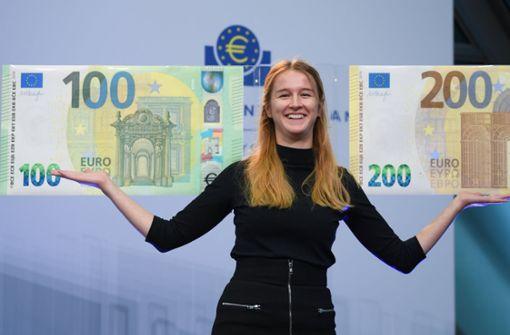 So sehen die neuen Geldnoten aus