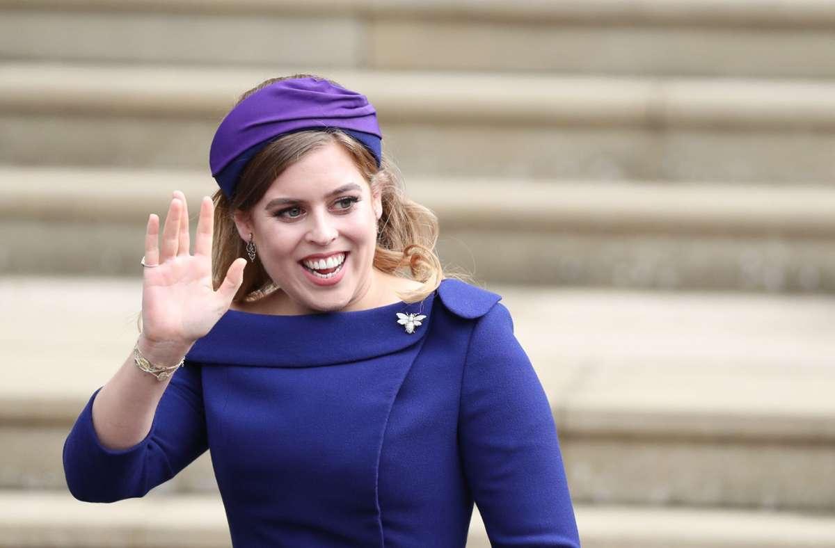 Prinzessin Beatrice ist 32. Jahre alt geworden. Foto: dpa/Steve Parsons