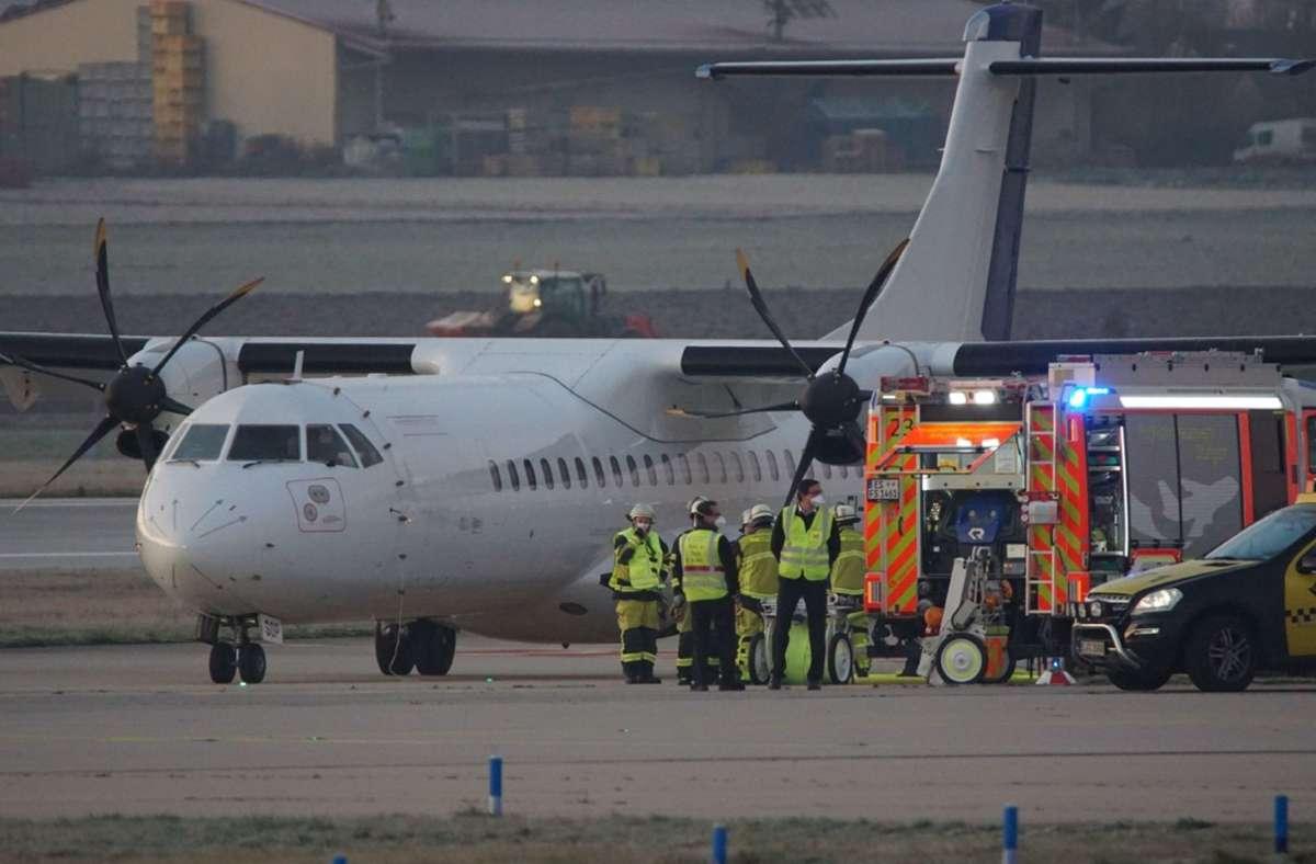 Das Flugzeug wird nun untersucht. Foto: SDMG/  Kohls