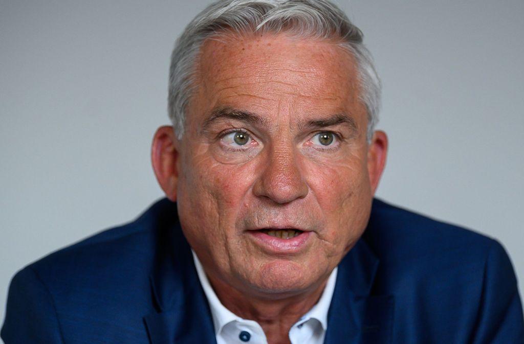 CDU-Landeschef Thomas   Strobl Foto: dpa