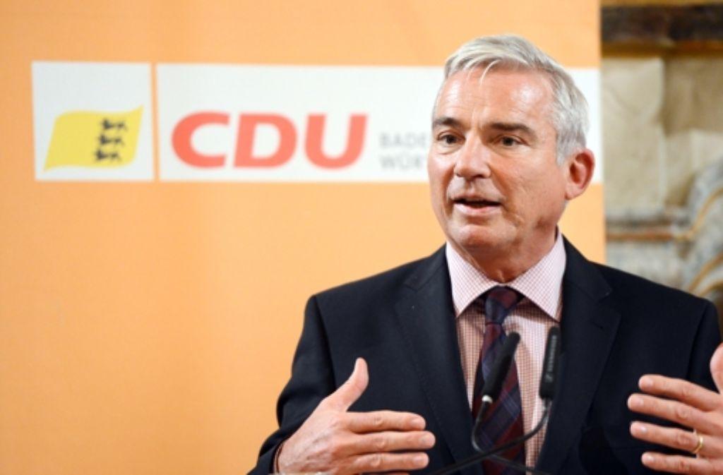 CDU-Landeschef Thomas Strobl würde gerne auch Spitzenkandidat werden. Foto: dpa