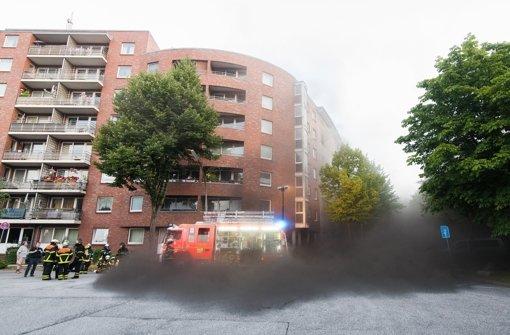 Feuer und Explosion in früherem Bunker