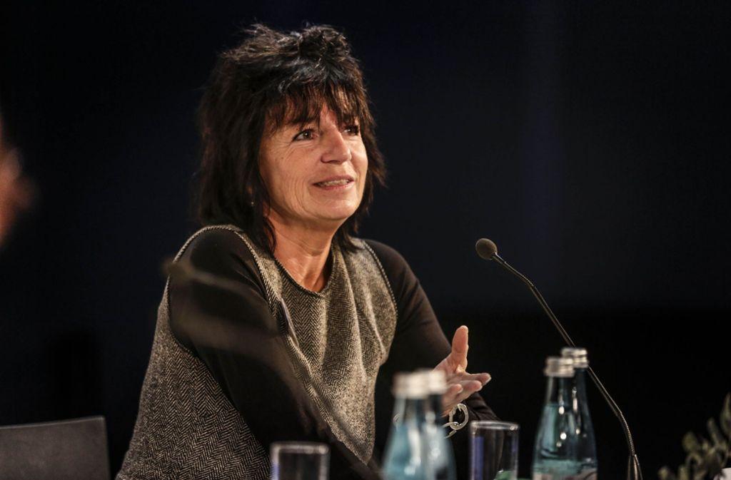 Christine Brunner verhalf der Stadtbibiothek am Mailänder Platz zum Erfolg. Foto: Leif Piechowski
