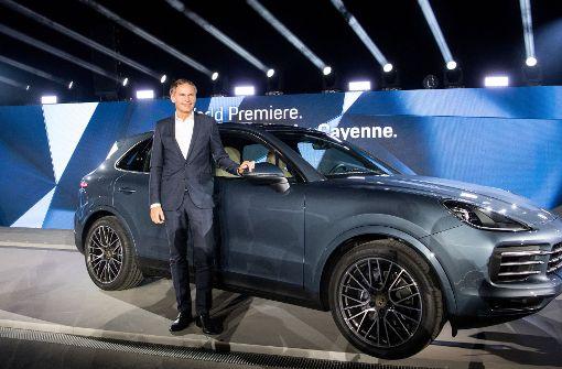 Neuer Porsche Cayenne kommt auch mit Dieselmotor