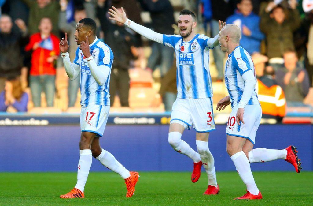 Da hat der englische Club Huddersfield Town  alle ganz schön an der Nase herumgeführt. Foto: dpa