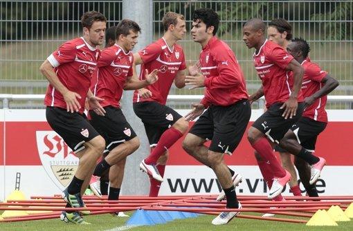 Die Positionskämpfe beim VfB