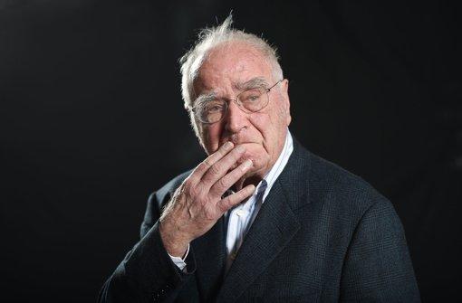 Der Schriftsteller Martin Walser Foto: dpa