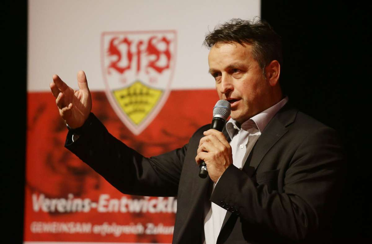 Rainer Mutschler arbeitet ab Mai nicht mehr für den VfB Stuttgart (Archivbild). Foto: Pressefoto Baumann/Hansjürgen Britsch