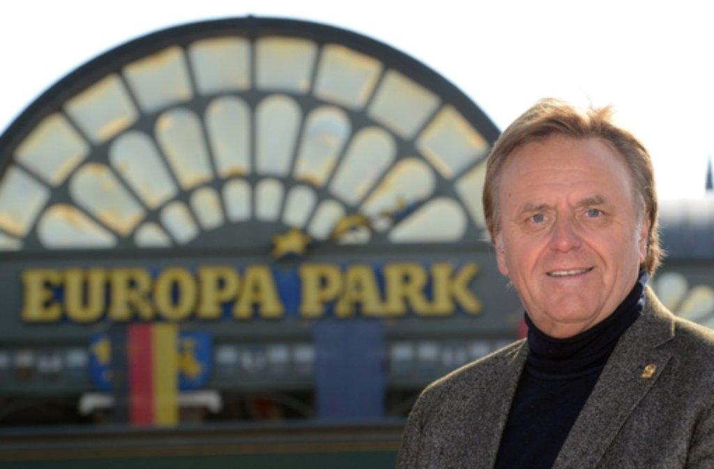 Der Europapark Rust geht in seine 40. Sommersaison. Inhaber Roland Mack investiert rund 35 Millionen Euro in die neue Saison. Foto: dpa