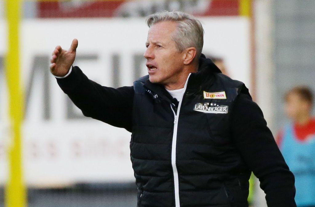 Nicht mehr Trainer in Berlin: Ex-VfBler Jens Keller. Foto: Pressefoto Baumann