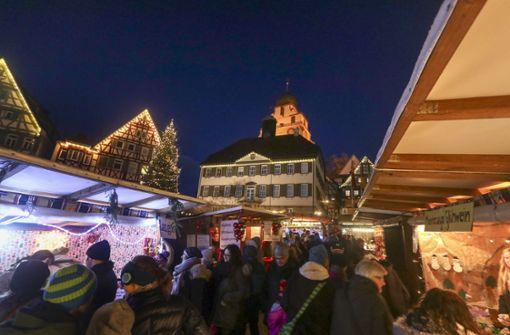 Wann und wo Weihnachtsmärkte stattfinden