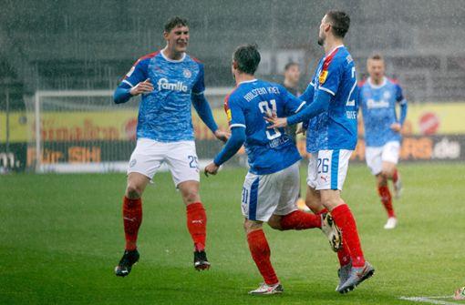 Holstein Kiel ist dem Bundesliga-Aufstieg ganz nah
