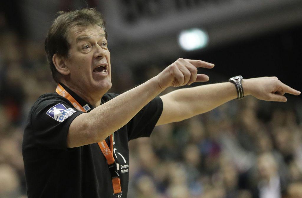 Gibt seit Dezember bei den Füchsen Berlin den Takt vor: Ex-Frisch-Auf-Trainer Velimir Petkovic. Foto: dpa