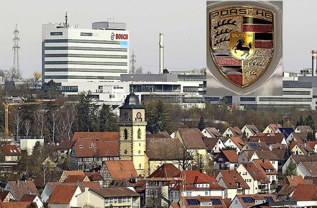 Soll sich in Schwieberdingen neben Bosch auch Porsche ansiedeln? Foto: factum