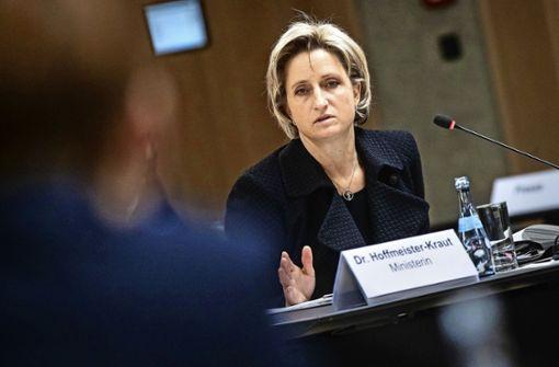 SPD will Rücktritt von Wirtschaftsministerin Hoffmeister-Kraut