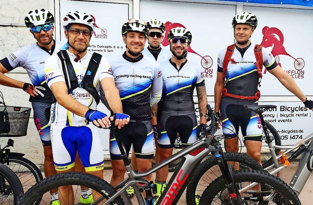 Teamchef Marc Sanwald (links) und einige seiner Zugänge für die neue Saison. Foto: Privat