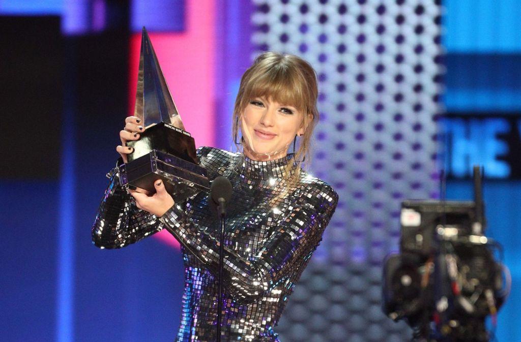Taylor Swift hat bei den American Music Awards einige Preise eingeheimst. Foto: AFP