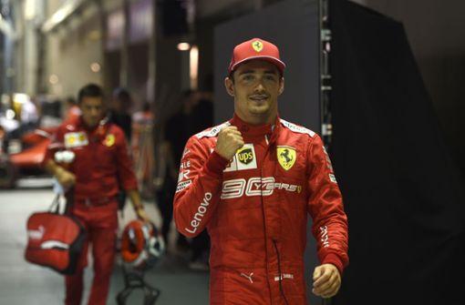 Charles Leclerc hofft auf Formel-1-Debüt von Mick Schumacher