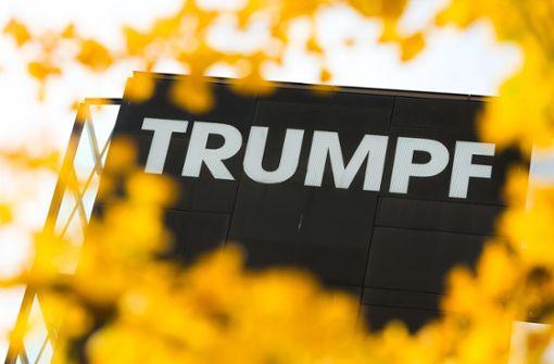 Trumpf sieht Anzeichen für Ende der Konjunktur-Talfahrt