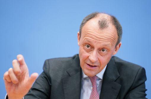 Friedrich Merz bedauert Äußerung zu Homosexualität