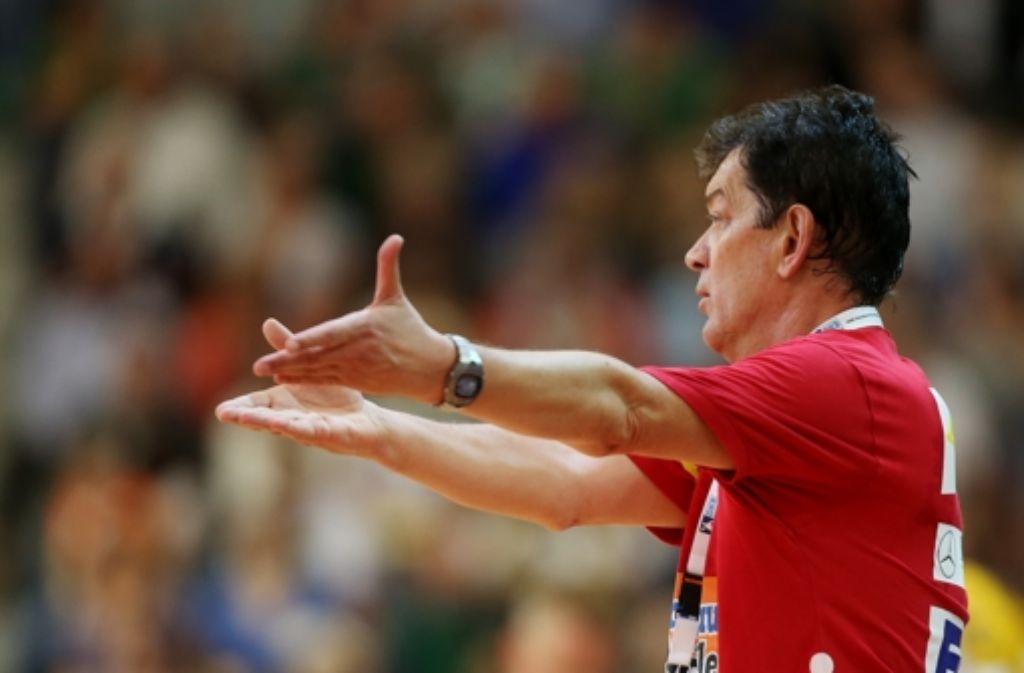 Mehr als neun Jahre war Velimir Petkovic Trainer bei Frisch auf Göppingen – nun muss er gehen. Foto: Baumann