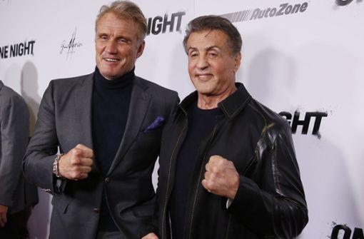 """""""Rocky"""" zeigt mit seinen Box-Freunden die Fäuste"""