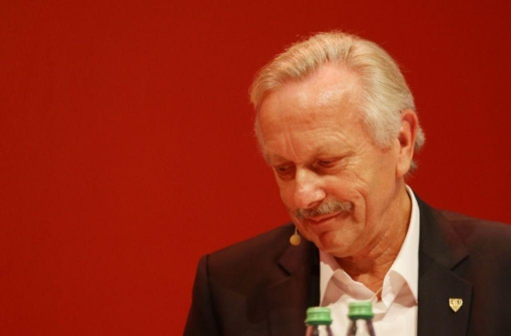 Nach 13 Jahren legt Joachim Schmidt sein Amt beim VfB nieder. Foto: Baumann