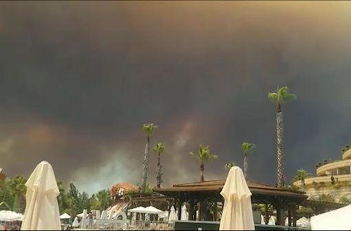 Mehrere Brände in Urlaubsregion Antalya ausgebrochen