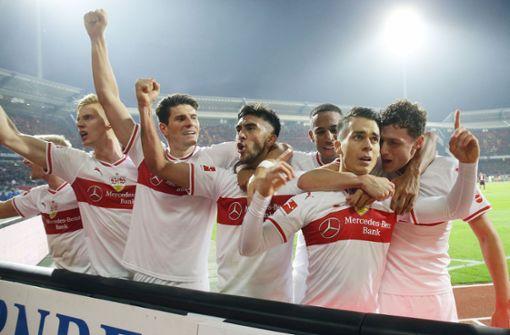 So feiern die VfB-Stars den Sieg auf Instagram