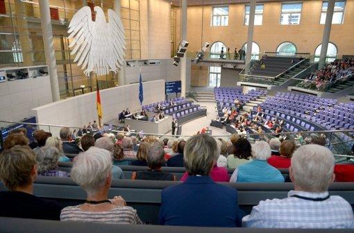 Was kümmert den Bürger der Bundestag?