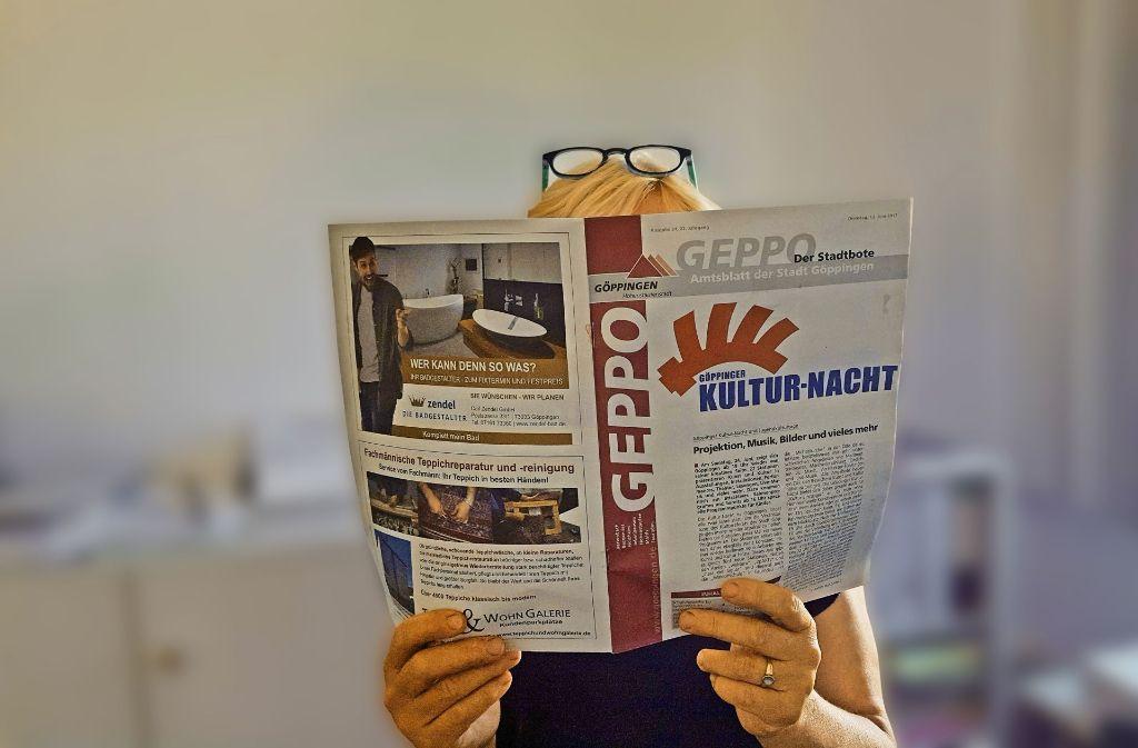 Im Geppo dürfen die Fraktionen nach wie vor Beiträge veröffentlichen – in den Mitteilungsblättern für die Stadtbezirke nicht. Foto: StZ