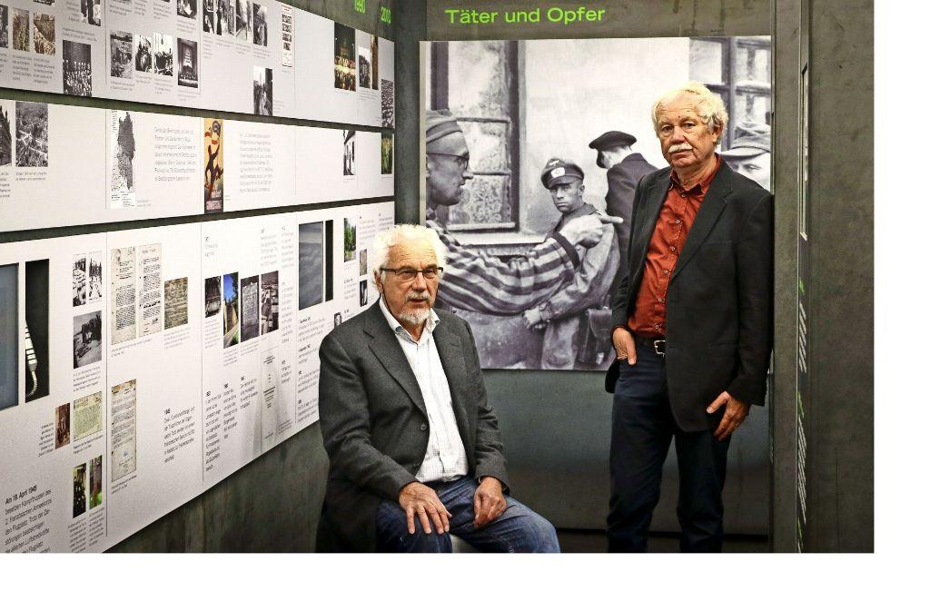 Mall (links)  und  Roth erhalten den Deutsch-Jüdischen Geschichtspreis. Foto: factum/Granville