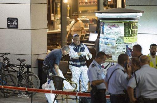 Israel kündigt nach Anschlag Offensive gegen Terroristen an