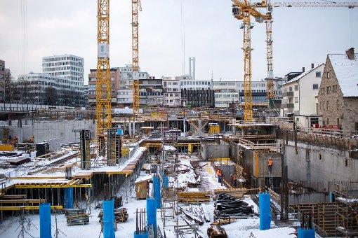 Stuttgart verändert sich: Bilder von der Gerber-Baustelle im Januar. Klicken Sie sich durch. Foto: www.7aktuell.de | Florian Gerlach
