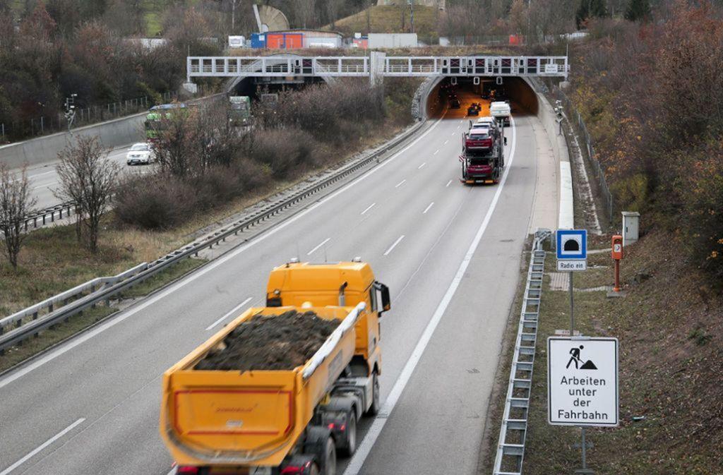 Am Wochenende wird im Engelbergtunnel gearbeitet. Foto: factum/Weise