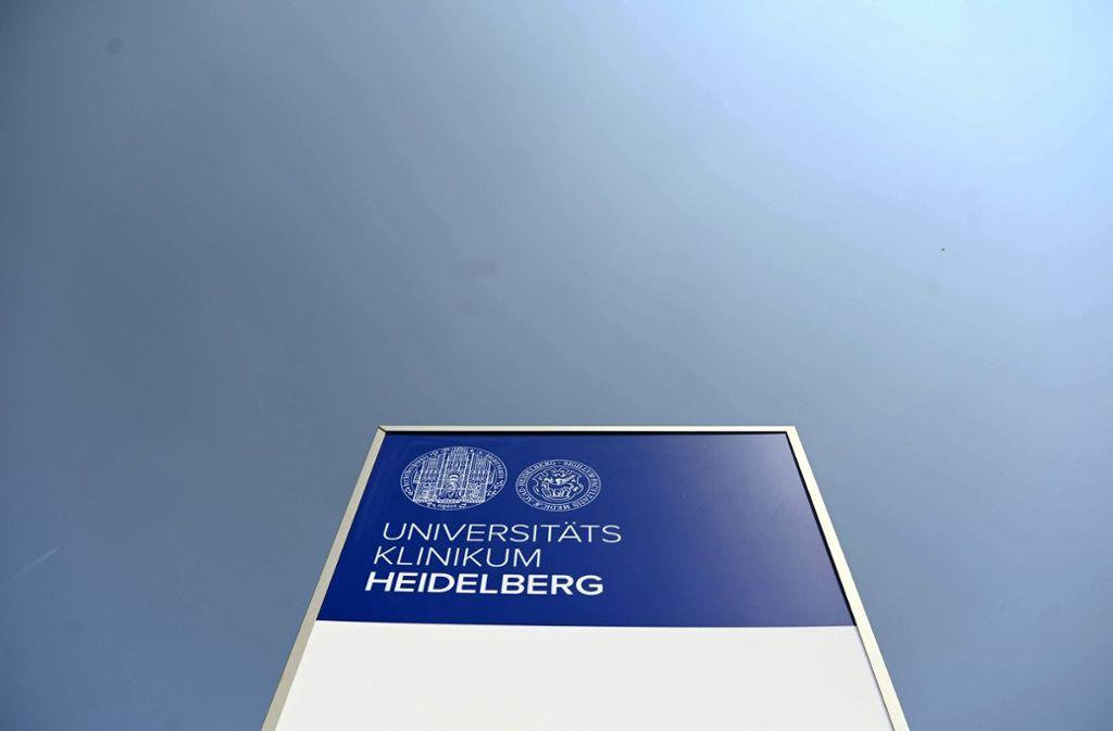 Das Universitätsklinikum Heidelberg hatte im April 2019 Strafanzeige gegen unbekannt gestellt. Foto: dpa/Uli Deck