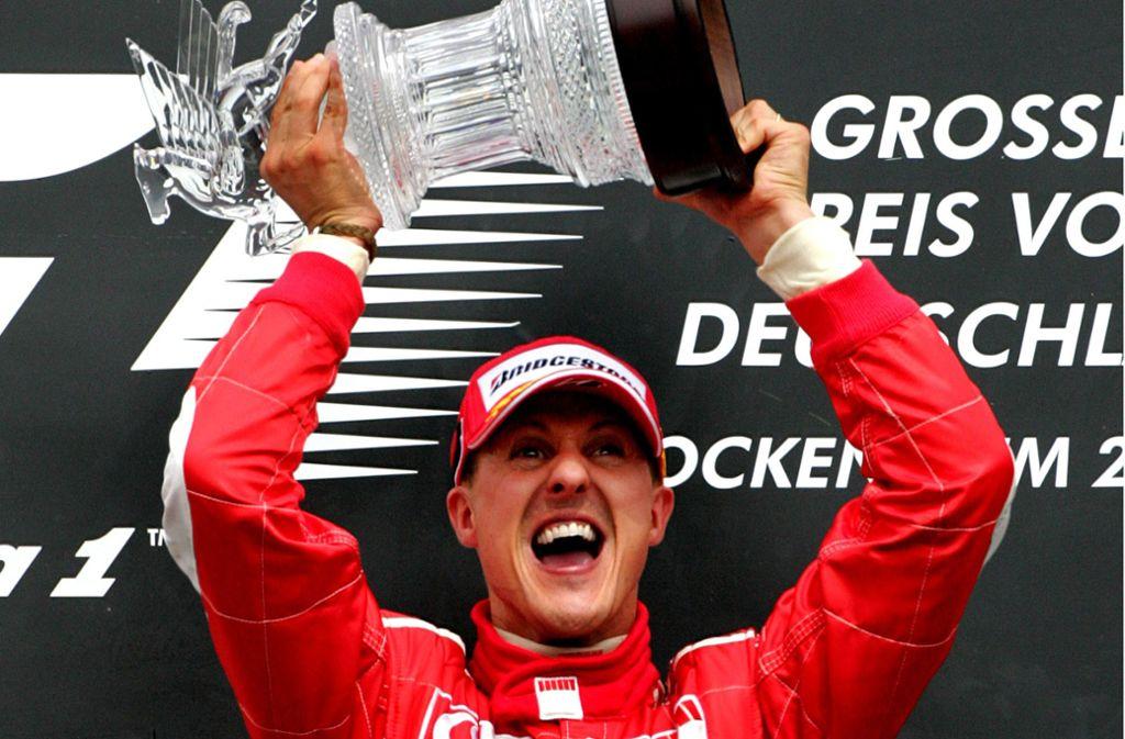 91 Rennsiege, sieben WM-Titel – Michael Schumacher hat die Formel 1 geprägt wie kein anderer Pilot. Foto: AP/MICHAEL PROBST